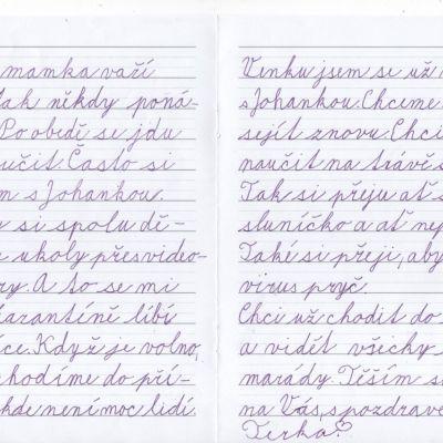 Dopis od Terky